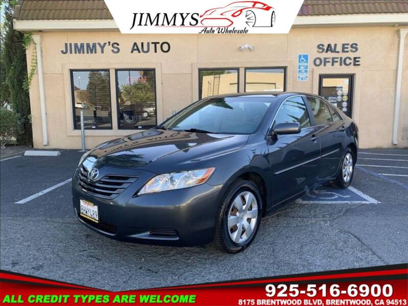 2009 Toyota Camry for sale at JIMMY'S AUTO WHOLESALE in Brentwood CA
