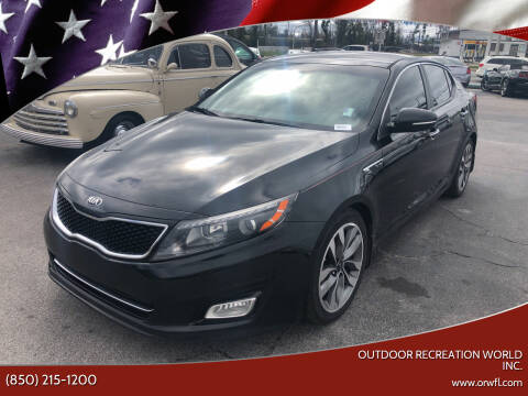 2015 Kia Optima for sale at Outdoor Recreation World Inc. in Panama City FL