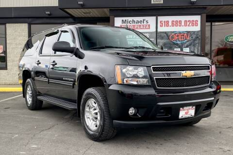 2013 Chevrolet Suburban for sale at Michaels Auto Plaza in East Greenbush NY