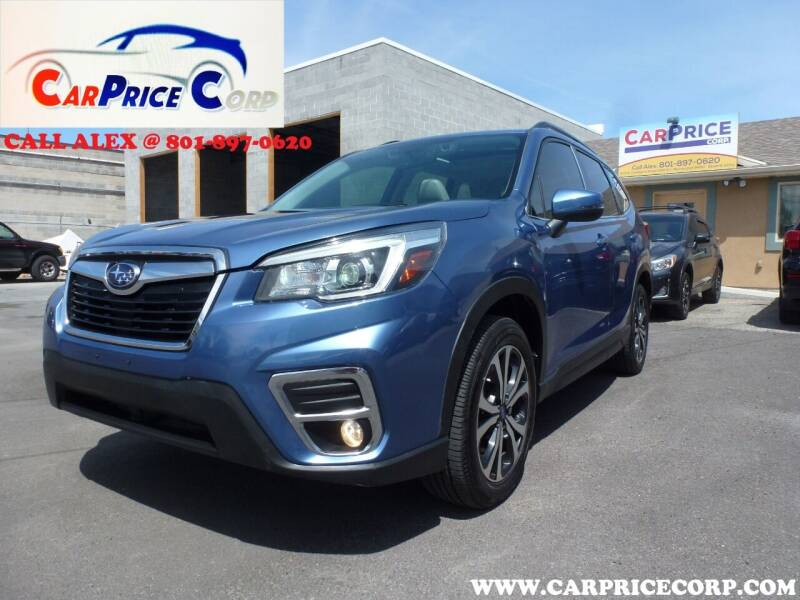 2019 Subaru Forester for sale at CarPrice Corp in Murray UT