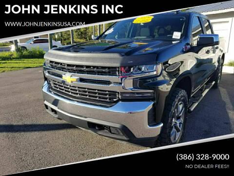 2019 Chevrolet Silverado 1500 for sale at JOHN JENKINS INC in Palatka FL