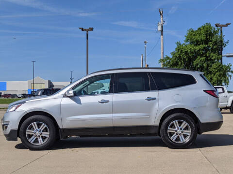 2016 Chevrolet Traverse for sale at LANDMARK OF TAYLORVILLE in Taylorville IL