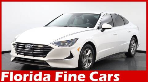 2020 Hyundai Sonata for sale at Florida Fine Cars - West Palm Beach in West Palm Beach FL