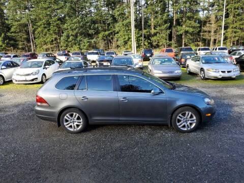 2010 Volkswagen Jetta for sale at WILSON MOTORS in Spanaway WA