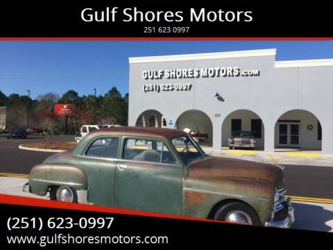 1950 Plymouth Deluxe for sale at Gulf Shores Motors in Gulf Shores AL