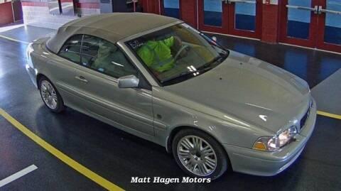2003 Volvo C70 for sale at Matt Hagen Motors in Newport NC