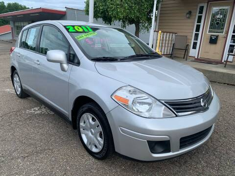 2011 Nissan Versa for sale at G & G Auto Sales in Steubenville OH