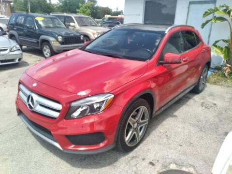 2015 Mercedes-Benz GLA for sale at P S AUTO ENTERPRISES INC in Miramar FL