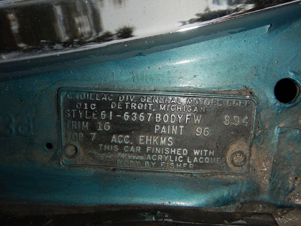 1961 Cadillac Eldorado Biarritz 79