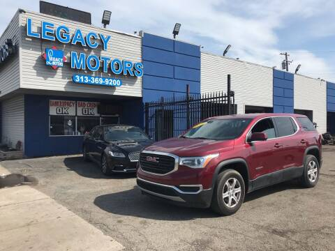 2017 GMC Acadia for sale at Legacy Motors in Detroit MI