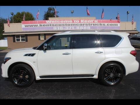 2016 Infiniti QX80 for sale at Kents Custom Cars and Trucks in Collinsville OK