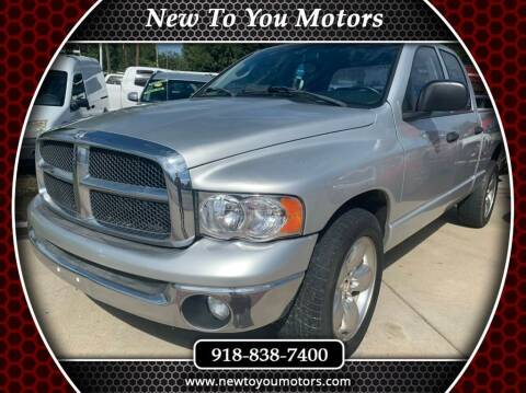 2005 Dodge Ram Pickup 1500 for sale at New To You Motors in Tulsa OK