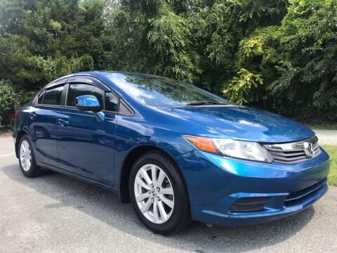 2012 Honda Civic for sale at Pristine AutoPlex in Burlington NC