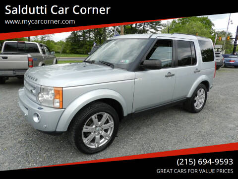 2009 Land Rover LR3 for sale at Saldutti Car Corner in Gilbertsville PA