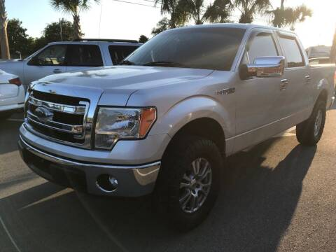 2014 Ford F-150 for sale at Gulf Financial Solutions Inc DBA GFS Autos in Panama City Beach FL