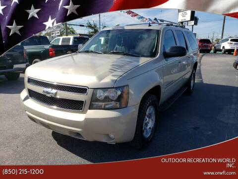 2007 Chevrolet Suburban for sale at Outdoor Recreation World Inc. in Panama City FL