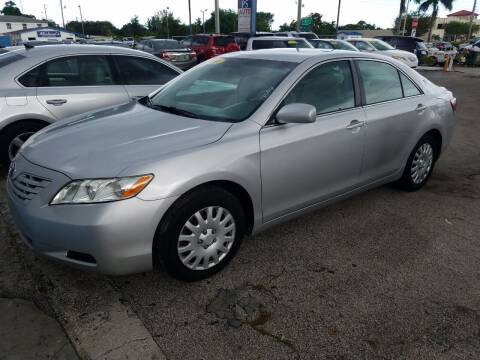 2008 Toyota Camry for sale at P S AUTO ENTERPRISES INC in Miramar FL
