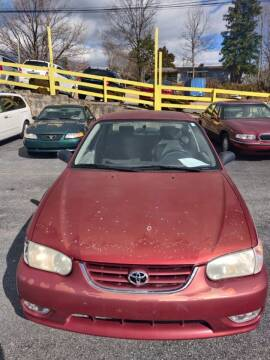 2001 Toyota Corolla for sale at DL Autos in Lenoir NC