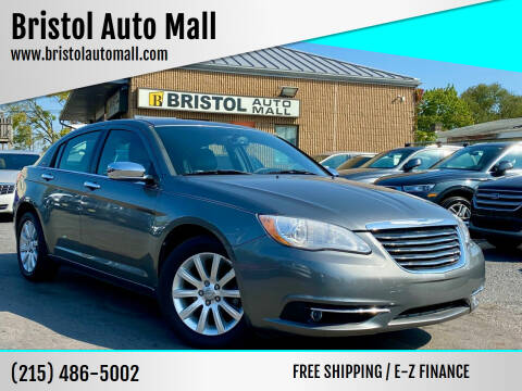 2013 Chrysler 200 for sale at Bristol Auto Mall in Levittown PA