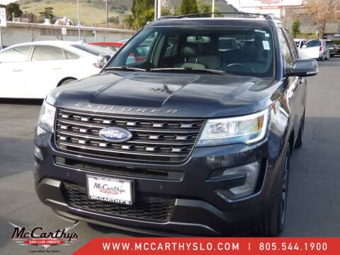 2017 Ford Explorer for sale at McCarthy Wholesale in San Luis Obispo CA