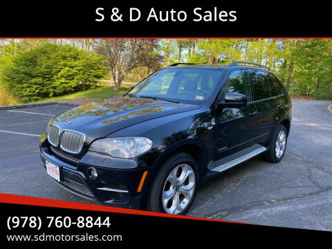 2011 BMW X5 for sale at S & D Auto Sales in Maynard MA