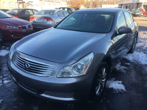 2007 Infiniti G35 for sale at Dijie Auto Sale and Service Co. in Johnston RI