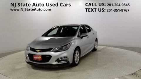 2017 Chevrolet Cruze for sale at NJ State Auto Auction in Jersey City NJ