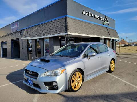 2016 Subaru WRX for sale at Apex Motors in Murray UT