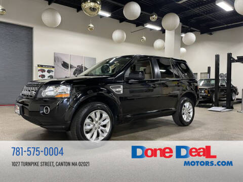 2014 Land Rover LR2 for sale at DONE DEAL MOTORS in Canton MA