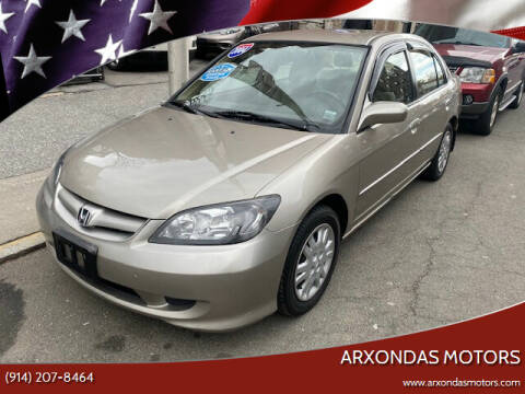 2004 Honda Civic for sale at ARXONDAS MOTORS in Yonkers NY