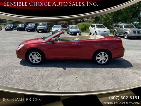 2008 Chrysler Sebring for sale at Sensible Choice Auto Sales, Inc. in Longwood FL