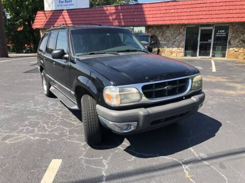 2000 Ford Explorer for sale at L & M Auto Broker in Stone Mountain GA