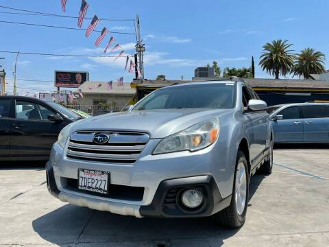 2014 Subaru Outback for sale at Good Vibes Auto Sales in North Hollywood CA