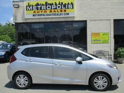 2016 Honda Fit for sale at Metropolis Auto Sales in Pelham NH