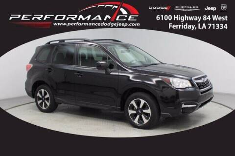 2018 Subaru Forester for sale at Performance Dodge Chrysler Jeep in Ferriday LA