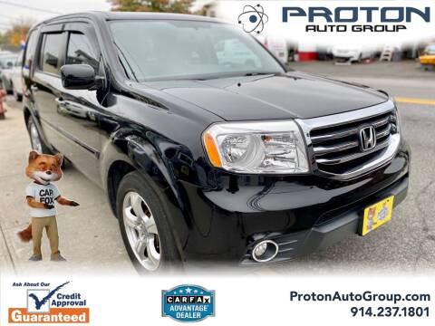 2015 Honda Pilot for sale at Proton Auto Group in Yonkers NY