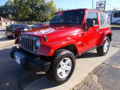 2014 Jeep Wrangler for sale at High Country Motors in Mountain Home AR