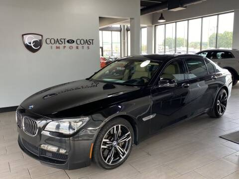 2015 BMW 7 Series for sale at Coast to Coast Imports in Fishers IN