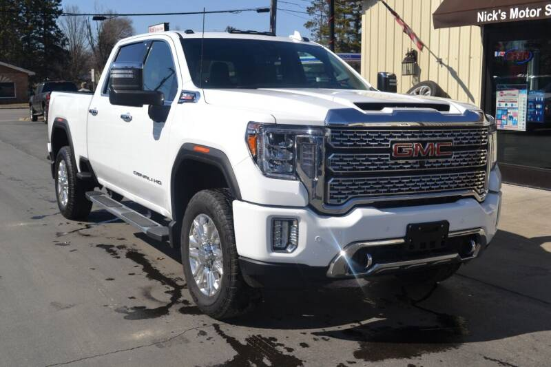 2020 GMC Sierra 2500HD for sale at Nick's Motor Sales LLC in Kalkaska MI