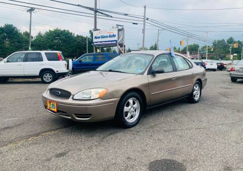 2005 Ford Taurus for sale at New Wave Auto of Vineland in Vineland NJ