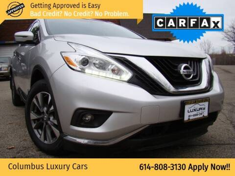 2017 Nissan Murano for sale at Columbus Luxury Cars in Columbus OH