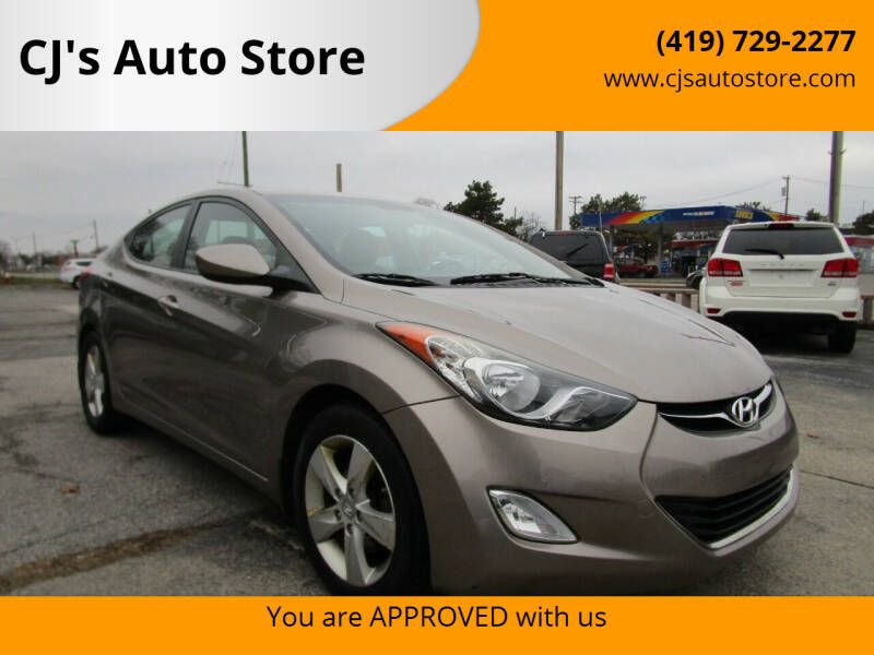 2013 Hyundai Elantra for sale at CJ's Auto Store in Toledo OH