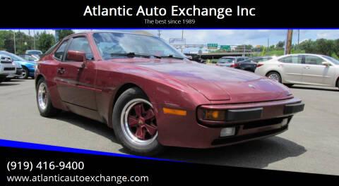 1986 Porsche 944 for sale at Atlantic Auto Exchange Inc in Durham NC