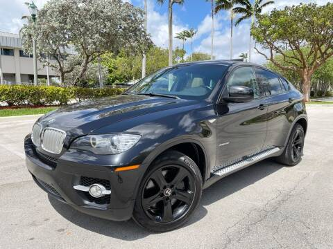 2012 BMW X6 for sale at FIRST FLORIDA MOTOR SPORTS in Pompano Beach FL
