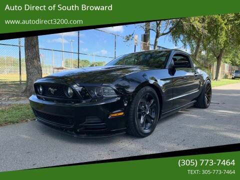 2014 Ford Mustang for sale at Auto Direct of South Broward in Miramar FL