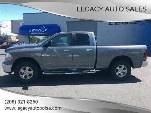 2011 RAM Ram Pickup 1500 for sale at LEGACY AUTO SALES in Boise ID