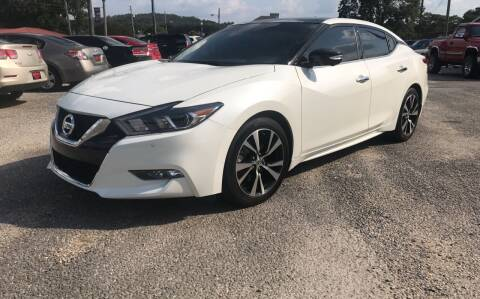 2018 Nissan Maxima for sale at VAUGHN'S USED CARS in Guin AL