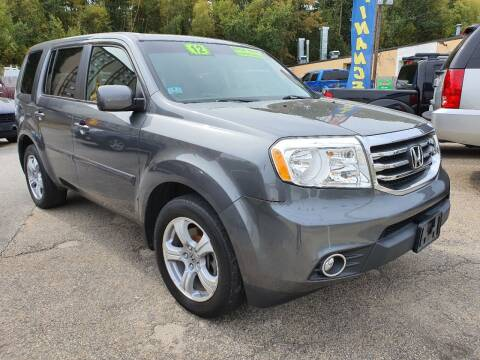 2012 Honda Pilot for sale at Porcelli Auto Sales in West Warwick RI