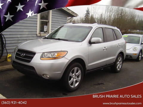 2008 Hyundai Santa Fe for sale at Brush Prairie Auto Sales in Battle Ground WA