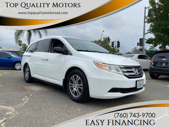 2011 Honda Odyssey for sale at Top Quality Motors in Escondido CA